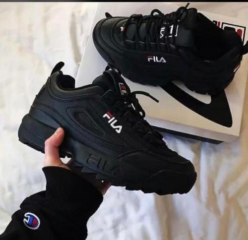 *~* zapatos fila disruptor velcro *~*