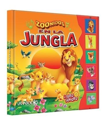 ** zoonidos animales en la jungla ** libro con sonido