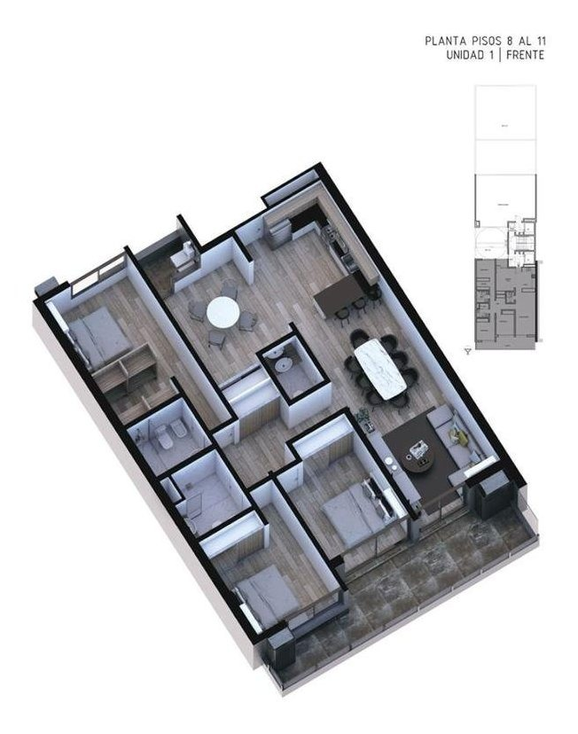 0-2-3 dorm. | op. coch. | amenities
