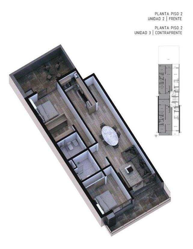 0-2-3 dorm. | op. coch. | amenities