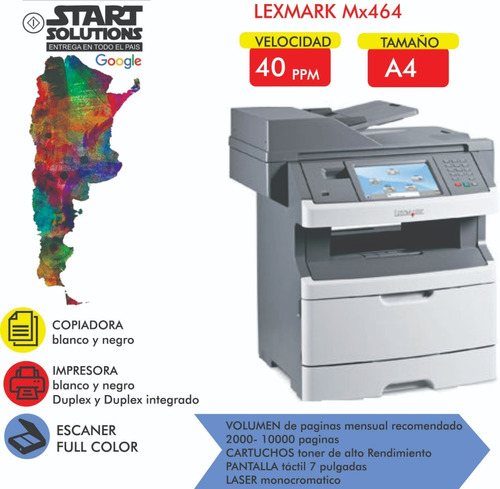 0 alquiler fotocopiadora kiosco oficina zona sur cap fed
