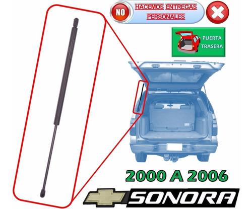 00-06 chevrolet sonora amortiguador hidraulico cajuela izq.