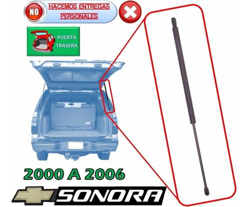 00-06 chevrolet sonora piston hidraulico 5ta puerta derecho