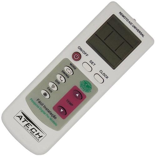 0049 - controle remoto universal ar condicionado max-100