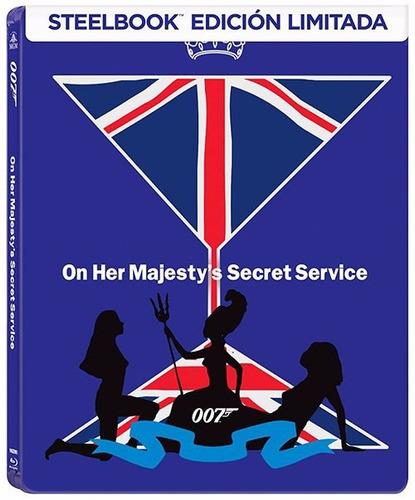 007 al servicio de su majestad steelbook pelicula blu-ray