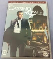007 cassino royale dvd duplo edição de colecionador
