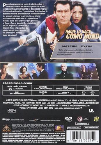 007 el mañana nunca muere james bond brosnan pelicula dvd