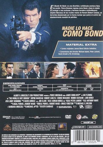 007 el mundo no basta james bond pierce brosnan pelicula dvd