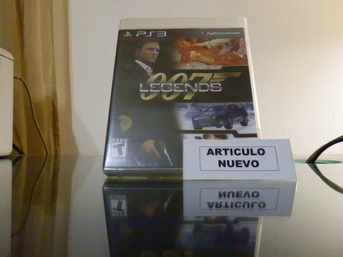 007: legends - fisico - playstation 3