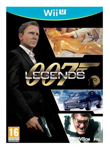 007 legends juego nintendo wiiu - tecsys
