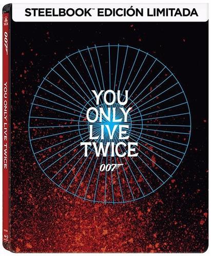 007 solo se vive dos veces steelbook pelicula blu-ray