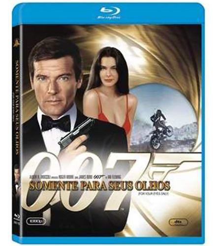007 somente para seus olhos [blu-ray] nacional lacrado origi