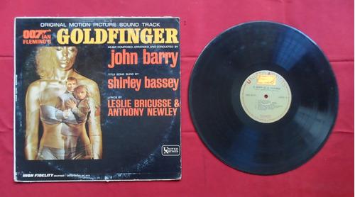 007 vs. goldfinger - soundtrack en vinil.