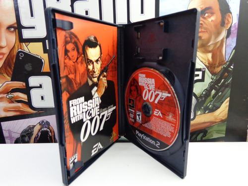 007 with russia with love ps2