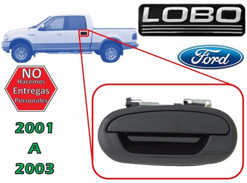 01-03 ford lobo manija exterior trasera lado izquierdo