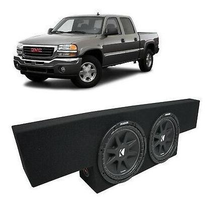 01-06 gmc sierra no - hd crew cab carro kicker comp c12-6581