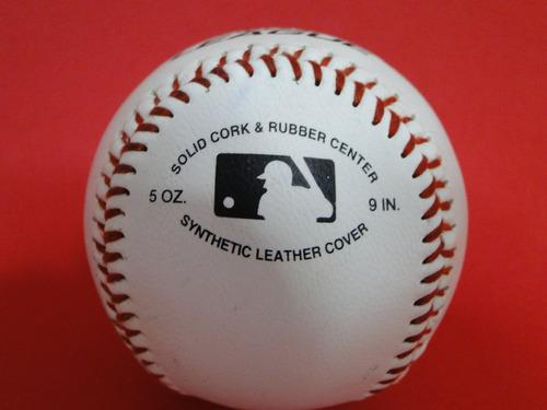 01 bola baseball rawlings de 09 polegadas official league