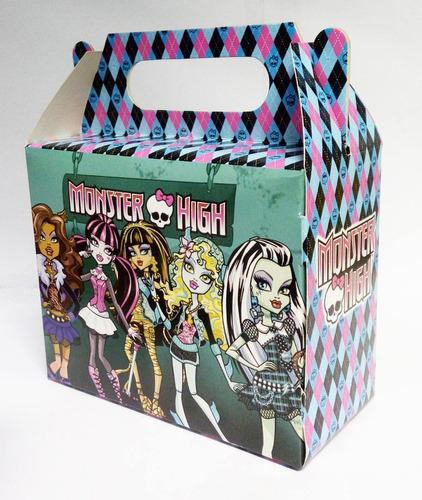 01 caixinha surpresa lembrancinha tema monster high