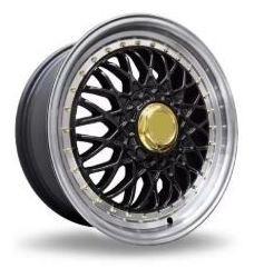 01 calota tampa miolo centro roda bbs brw 900 aro 17 preta