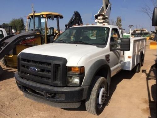01 camioneta canastilla ford 550 2000 por reparar inyectores