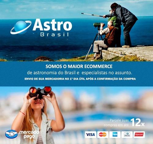 01 espelho telescópio refletor primário 114mm + secundário - skylife marca especialista em produtos astronômicos