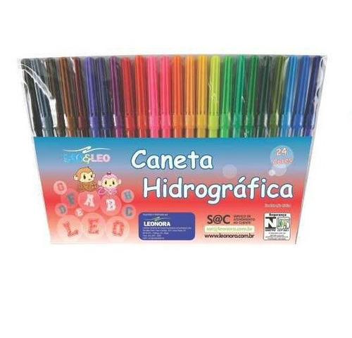 01 estojo de canetinha hidrocor - 12 cores