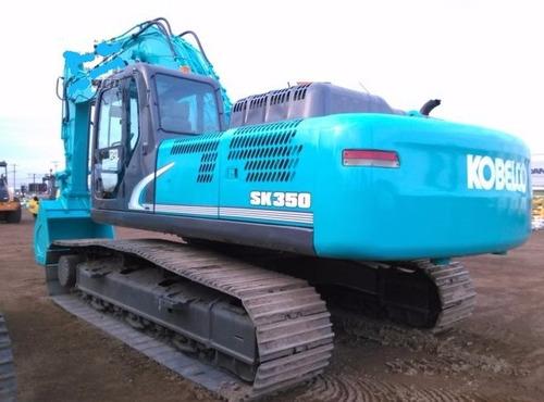 01) excavadora kobelco sk350-8 2011 con kit hidraulico