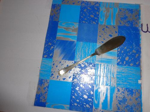 01 faca de peixe em alpaca