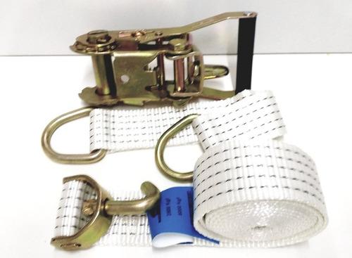 01 kit guincho 5ton + cinta 3mts + catraca+alças pano/argola