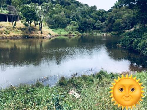 01- lotes com trilha ecológica e lago de pesca na promoção