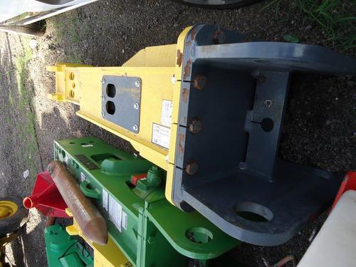 01) martillo hidraulico mustang para excavadora de 25 a 40 t