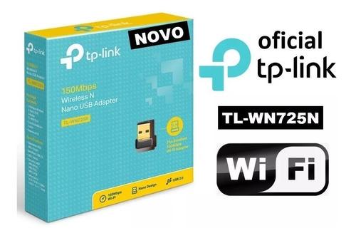 01 mini adaptador wifi usb tp link tl wn725n 150mbps