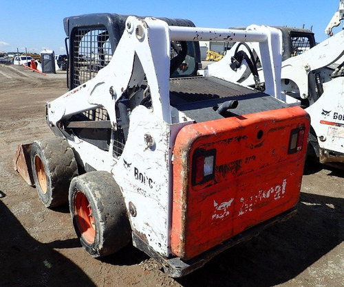 01) minicargador bobcat s570 kit hidraulico recien importado