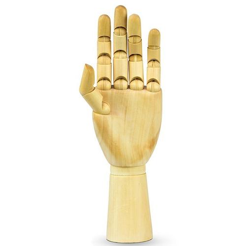 01 mão articulada + 01 boneco 16cm + 01 boneco 33cm kit