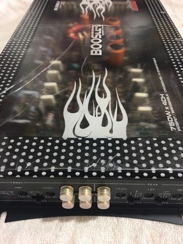 01 módulo booster amp. 4ch ba-2000.4 stereo 3000w acrilico