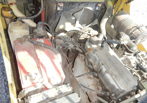 01) montacargas hyster gas lp 3100 lbs. 2008