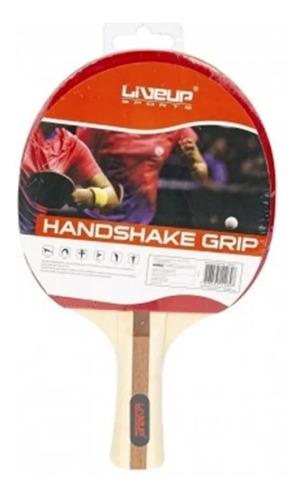 01 raquete de ping pong liveup sports cabo côncavo eva liso