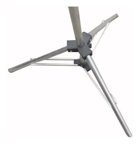 01 tripé,pedestal, suporte para telas de projeção 2,5m cp