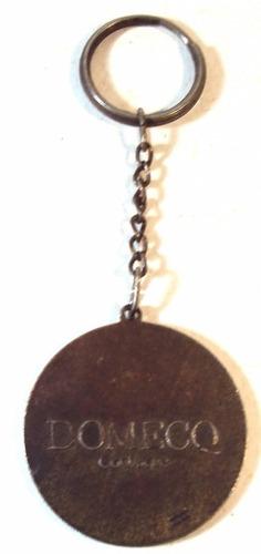 013 chv- antigo chaveiro- publicidade- metal