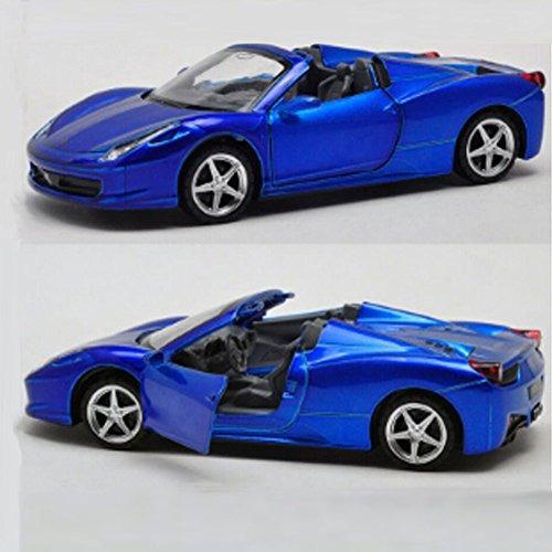 0132 pantalla de aleación modelo de coche modelo convertibl