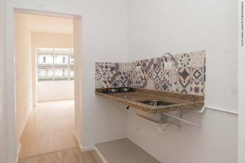 017 - santos - boqueirão - sala living - quadra da praia