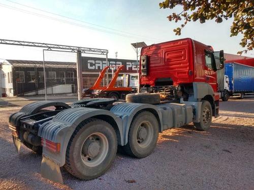 01un. m.benz axor 2644s 6x4 bogie pesado - 2013/2013