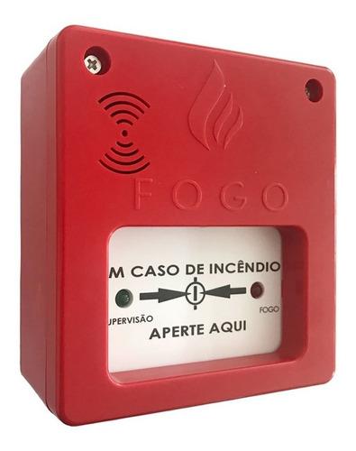 02 acionador manual c/ sirene 12v/24v convencional n50/1500p