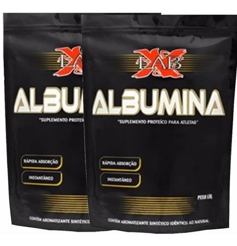 02 albumina 1kg xlab sabores