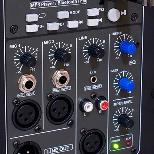 02 caixas ativas bluetooth staner sr-212a 200w promoção!