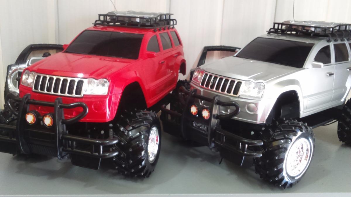 02 Carrinhos Controle Remoto Jeep Cherokee R 350 00 Em Mercado Livre