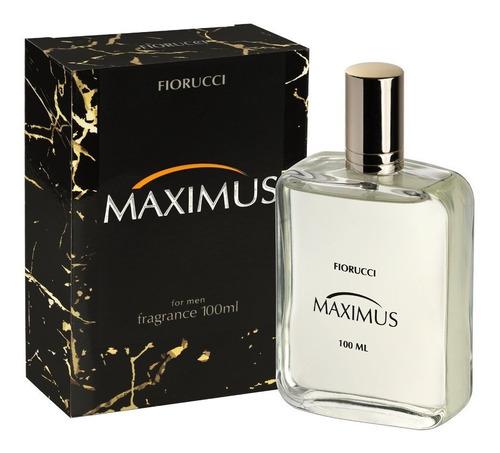 02 deo colônia fiorucci  maximus 100 ml