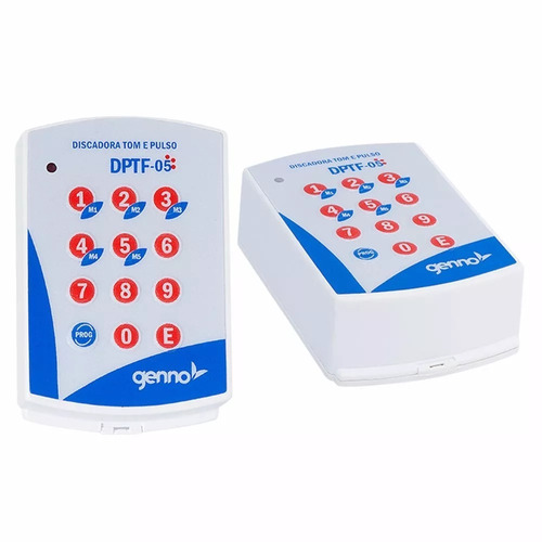 02 discadoras telefônica universal genno dptf pulso alarme