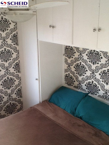 02 dormitórios, 01 vaga,62m, recém reformado, pronto para morar - mc1340