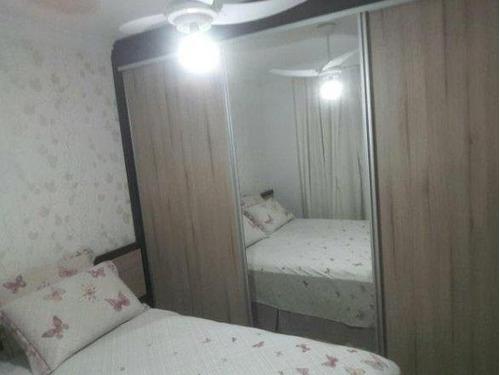 02 dormitórios, cozinha americana - armários embutidos - ap1951